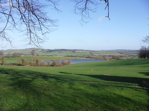 View from Chilton House across the valley