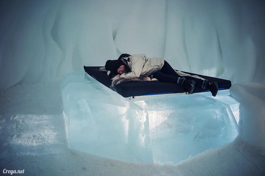 2016.02.25 ▐ 看我歐行腿 ▐ 美到搶著入冰宮,躺在用冰打造的瑞典北極圈 ICE HOTEL 裡 18.jpg