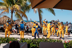 Super Bowl 50 Parade Along the Beach