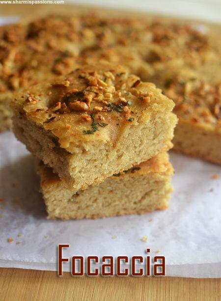 Whole Wheat Garlic Focaccia Recipe