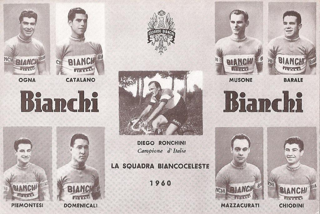 Bianchi 1960 (foto gentilmente inviata dalla moglie Tiziana Ferrari)