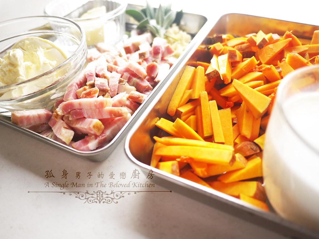孤身廚房-愛上短義大利麵-南瓜培根起司筆管麵5