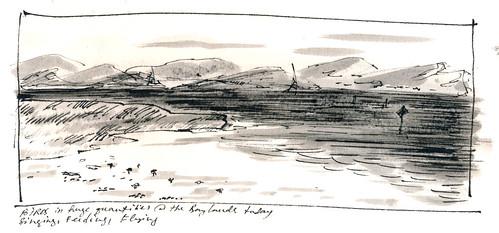 Sketchbook #94: Bay Shore