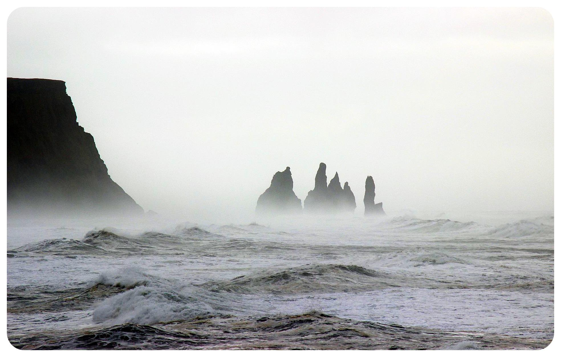 iceland south coast storm