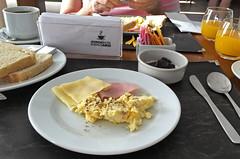 Buenos Aires - Hotel Moreno breakfast