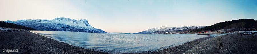 2016.02.23▐ 看我歐行腿 ▐ 阿呀~一不小心就從瑞典到了挪威, Narvik 小鎮遇見地理課本中的峽灣 21.jpg