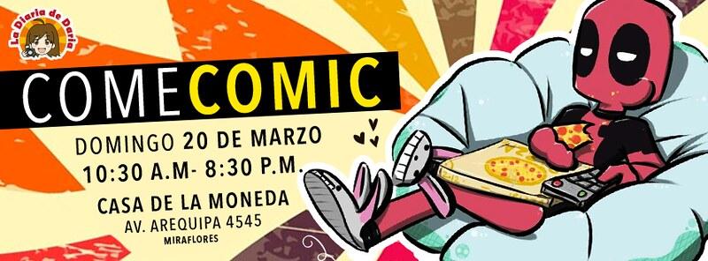 COME COMIC 2016 | Saborea Tu Afición este 20 de Marzo