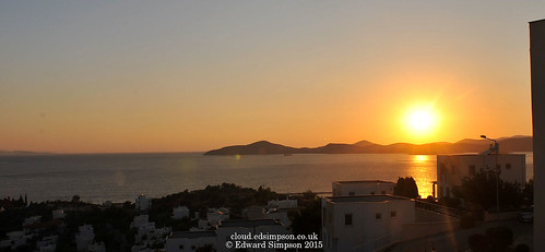 sunset sea sun holiday mountains turkey mediterranean apartment flat hill mediterraneansea olivetree 2015 aegeansea bodrumpeninsula theolivetree patsapartment nikond700 nikonafnikkor20mmf28 gullluk