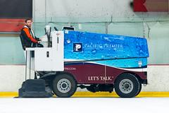 Zamboni Ice Re-Surfacing Machine