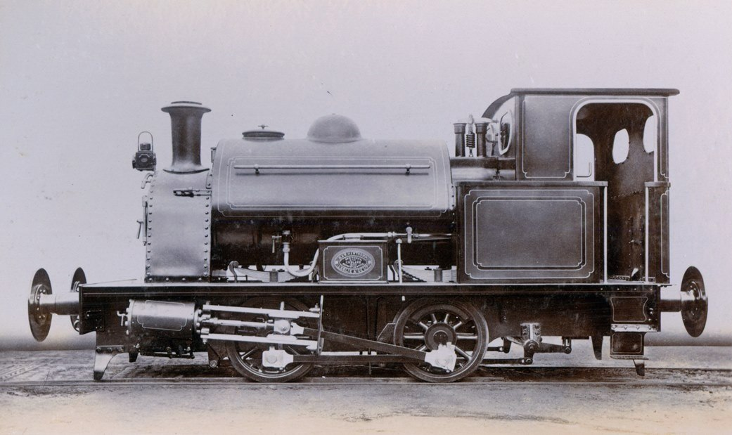 Saddle Tank Engine for the South Metropolitan Gas Company