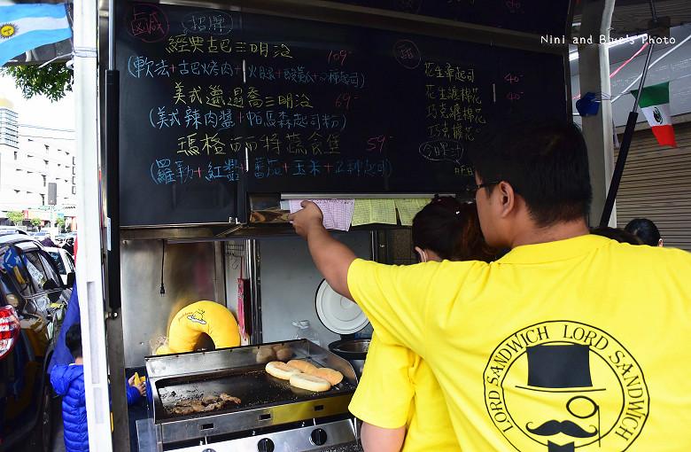 台中古巴三明治快餐車推薦04