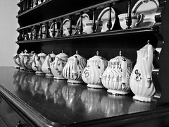 Black and White Tea Pots