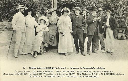 Albert Lambert, Mounet-Sully, Madeleine Roch a.o.