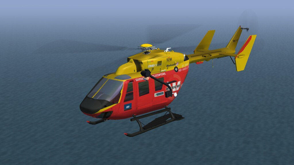 BK177 Westpac Rescue Helicopter Flightgear Livery