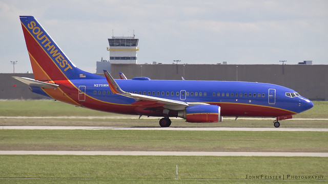 Southwest N275WN - Indianapolis International Airport