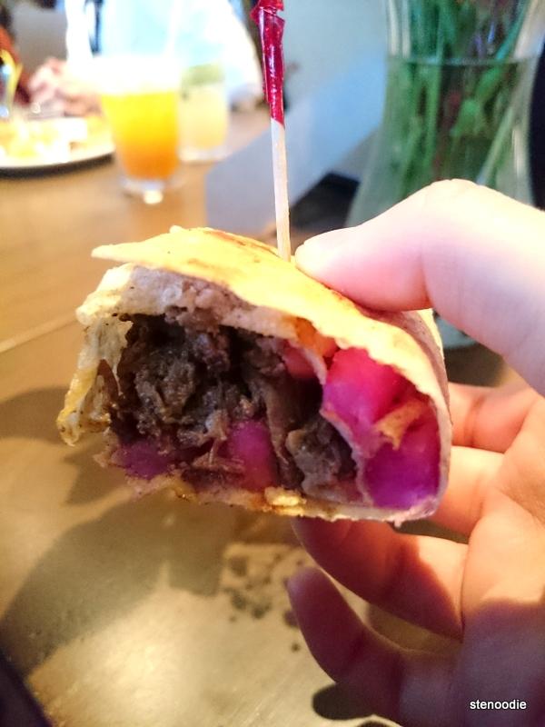 Tabliyeh Saj Beef Shawarma