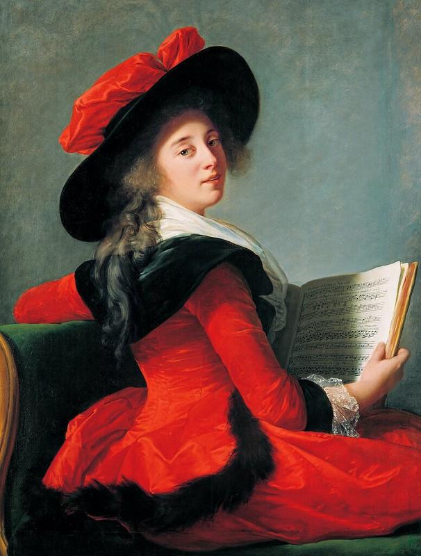 Louise Élisabeth Vigée Le Brun - Baronne de Crussol (1785)