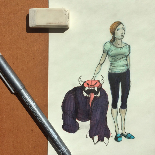 Demons & Yoga Pants