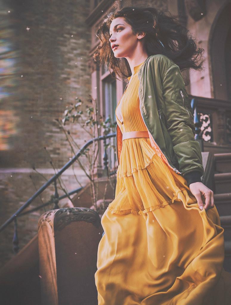 Белла Хадид — Фотосессия для «Harper's Bazaar» ES 2016 – 5