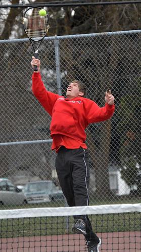 SPTS - Cheney tennis Brandon Foster - 03312016