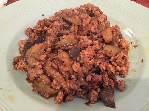 インドラ ひき肉とナスのカレー