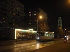 Moscow historical tram - LM-2000