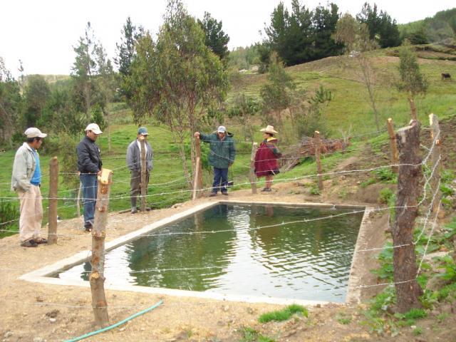 Desarrollo Sostenible de Chetilla y Magdalena - Módulo de Riego