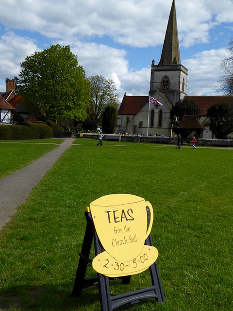 Tea at Brookham church