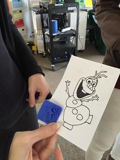 DHH class 3D printing visit