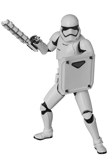 MAFEX【第一軍團:鎮暴風暴兵】First Order Riot Control Stormtrooper