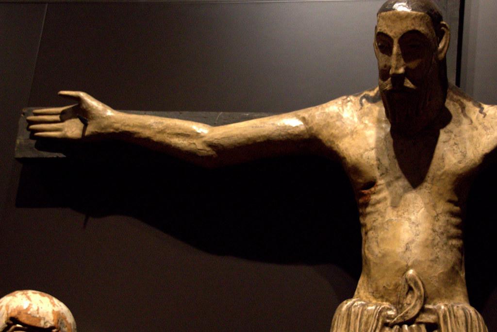 de un Cristo románico