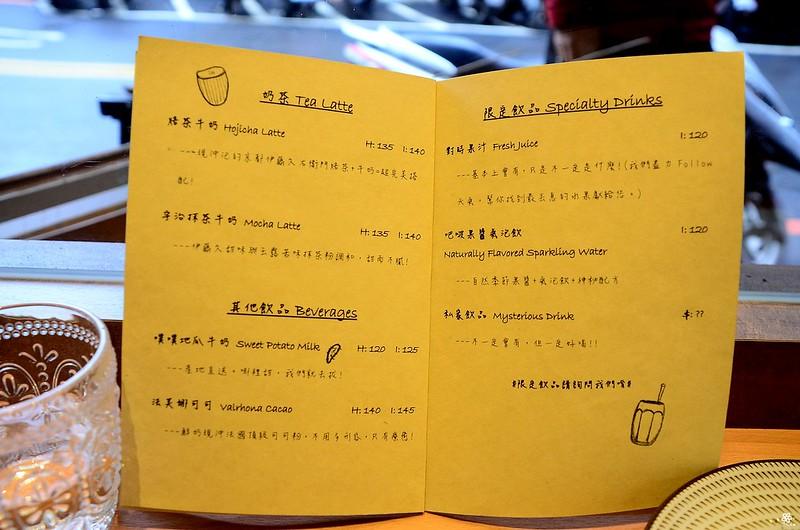 小空間板橋早午餐咖啡廳不限時推薦小倉庫菜單時間新埔 (40)