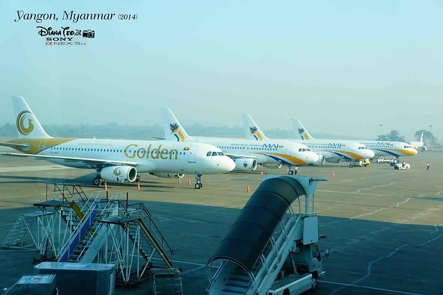 Myanmar, Yangon International Airport 02