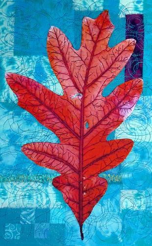white oak leaf november