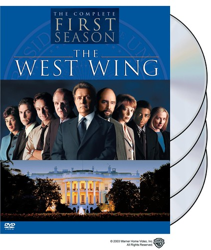 The West Wing: The Complete First Season; Photo taken from Amazon