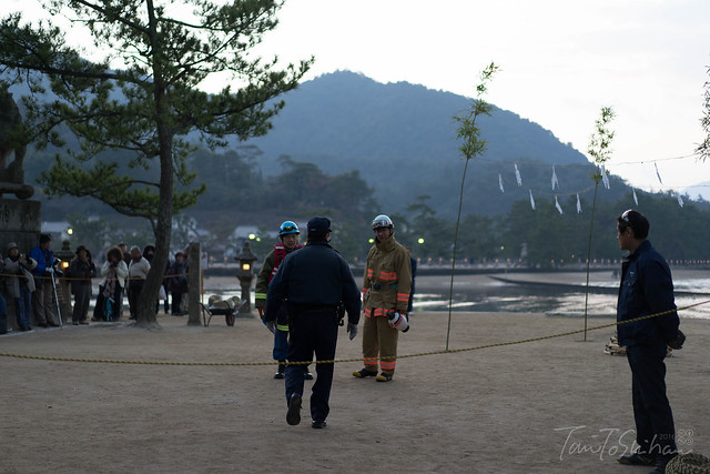 消防隊員 鎮火祭 (Fireman Chinka-sai)