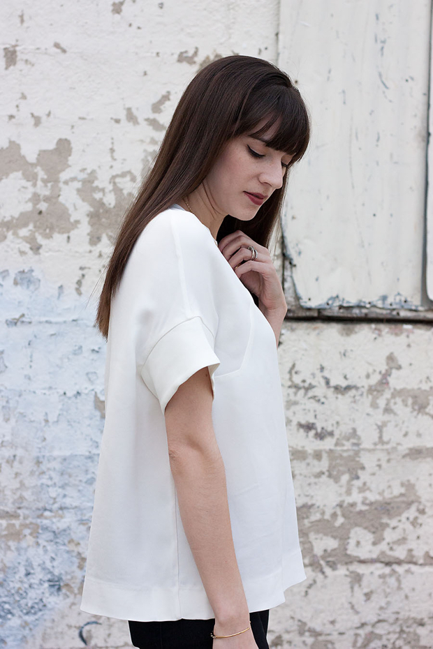 Minimalist White Blouse, Cos