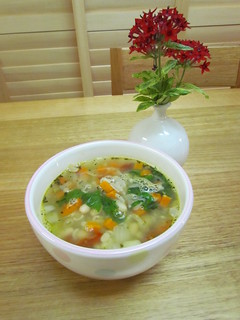 White Bean and Basil Soup