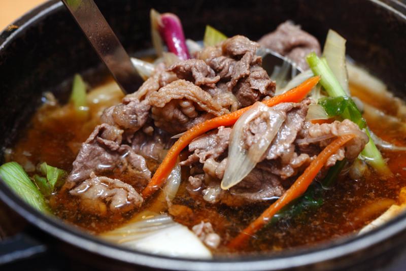 Mitasu Japanese buffet Beef Sukiyaki
