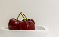 Cherries in a Dish..HMM