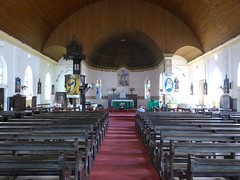 Happy Sunday ! / Interior of the Roman Catholic cathedral of Banjul (our Lady of the Assumption), The Gambia