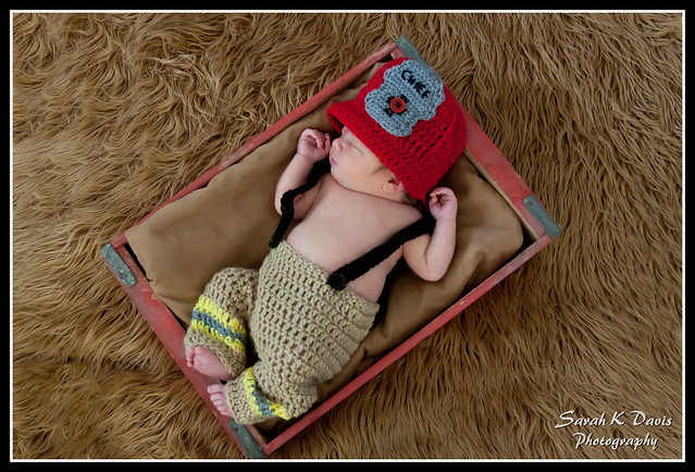 Grant's Newborn Shoot