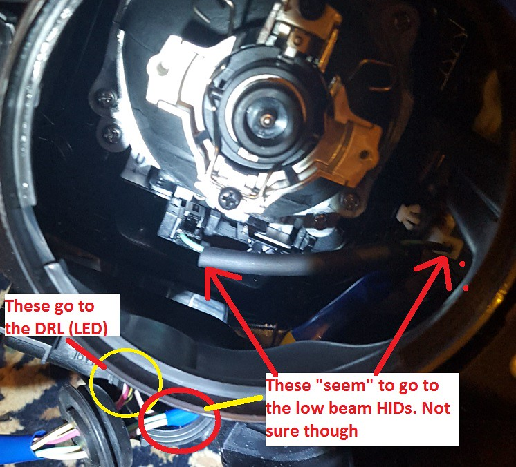 Headlight Upgrade 2008 To 2013 With Hid  U0026 Drl