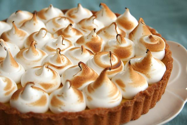 passionfruit meringue tart 5