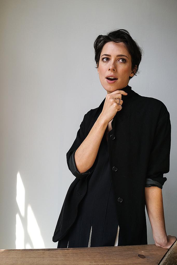 Ребекка Холл — Фотосессия для «Tumbledown» на «Tribeca» 2015 – 44
