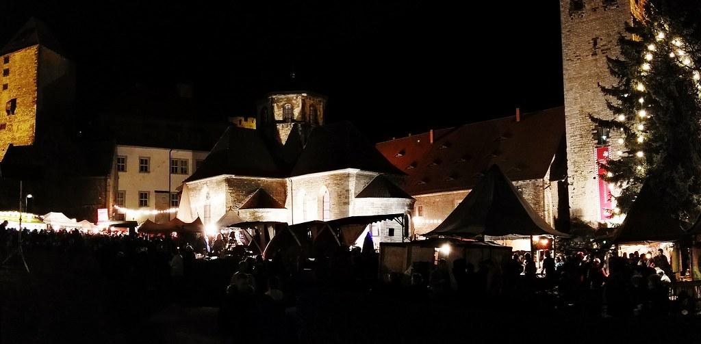 Weihnachtsmarkt Auf Burg Querfurt Mittelalterlicher Weihna