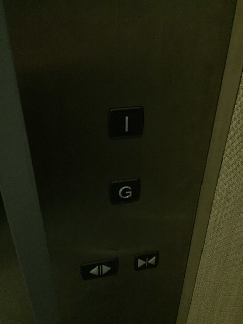 G = 1st floor, 1 = 2nd floor