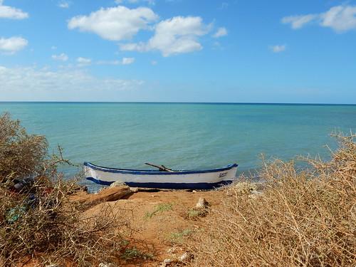 Fishing boat in Cabo de la Vela - La Guajira