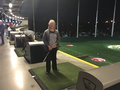 Topgolf Tampa on a Friday night!