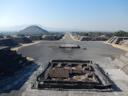 Teotihuacan - op Piramide de la Luna - 1